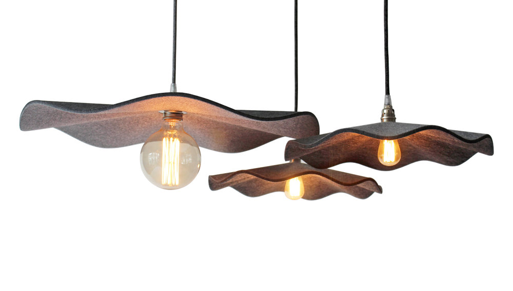 FLUTTER acoustic pendant light -