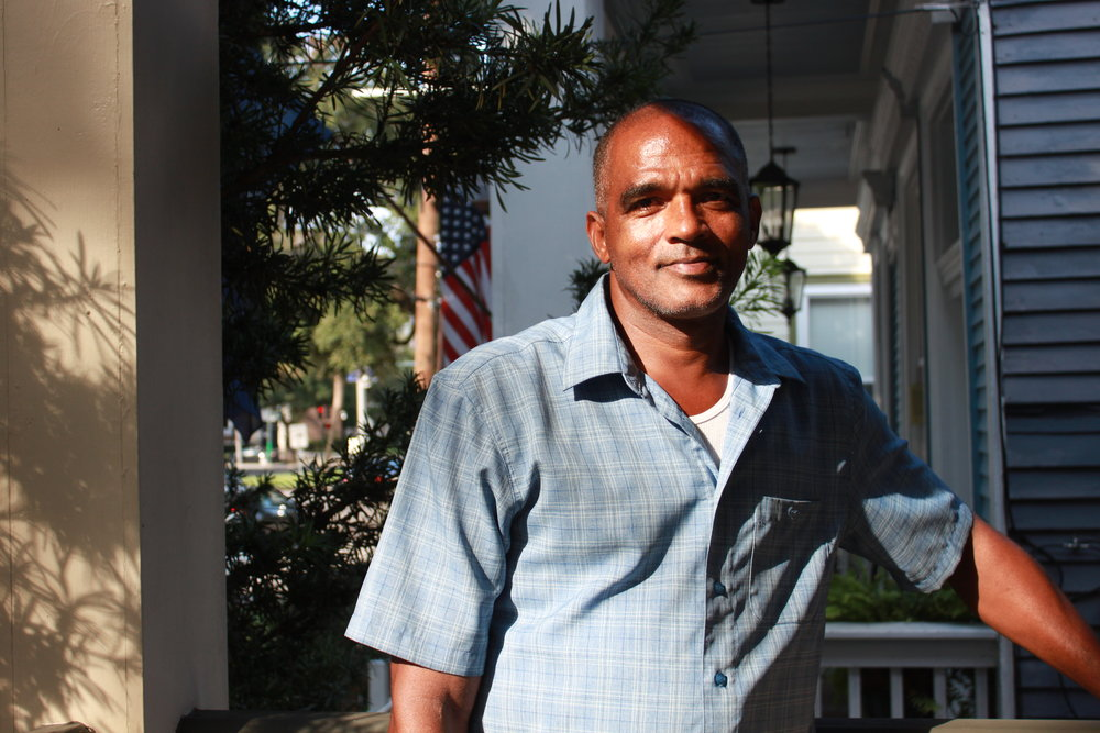 Adrian Caliste, lead plaintiff in Caliste v. Cantrell in New Orleans. Photo: Sonia Paul.