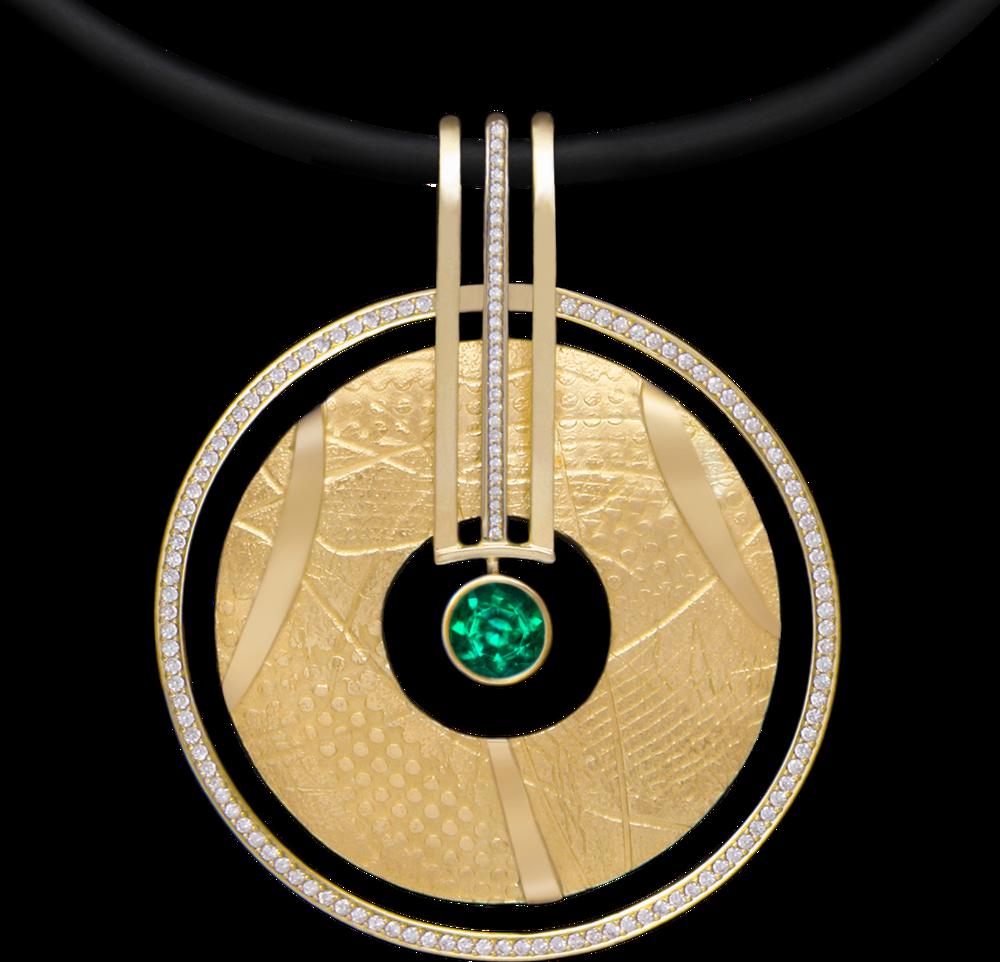 FRIDA | Shield™ Collection. Emerald Bindu