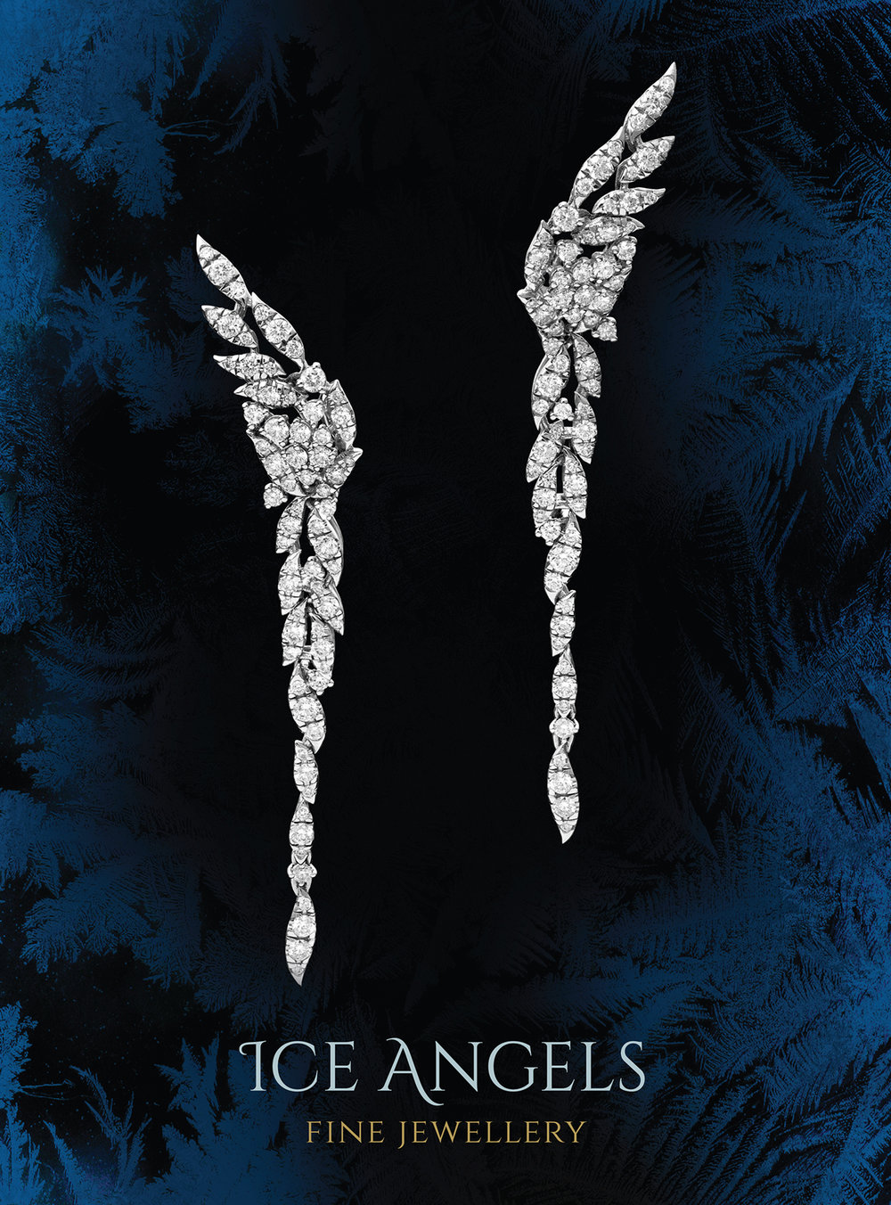 FRIDA | Fine Jewellery. Diamond Angel Earrings. Holiday Statement.jpg