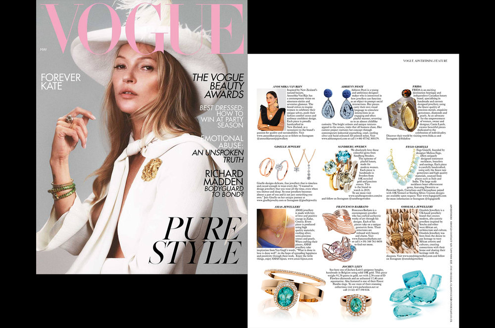 FRIDA. Jewellery Designer Profile. British Vogue. Kate Moss. May Issue 2019.jpg