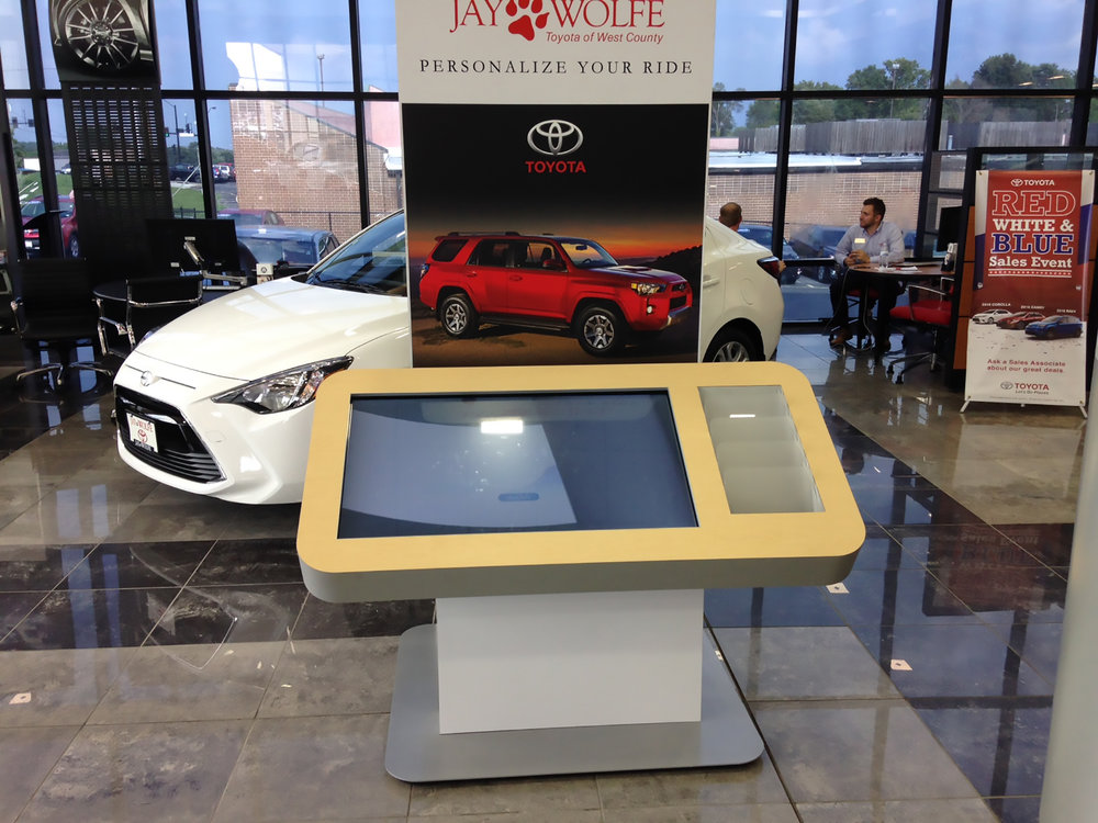 Vehicle Accessory Kiosk