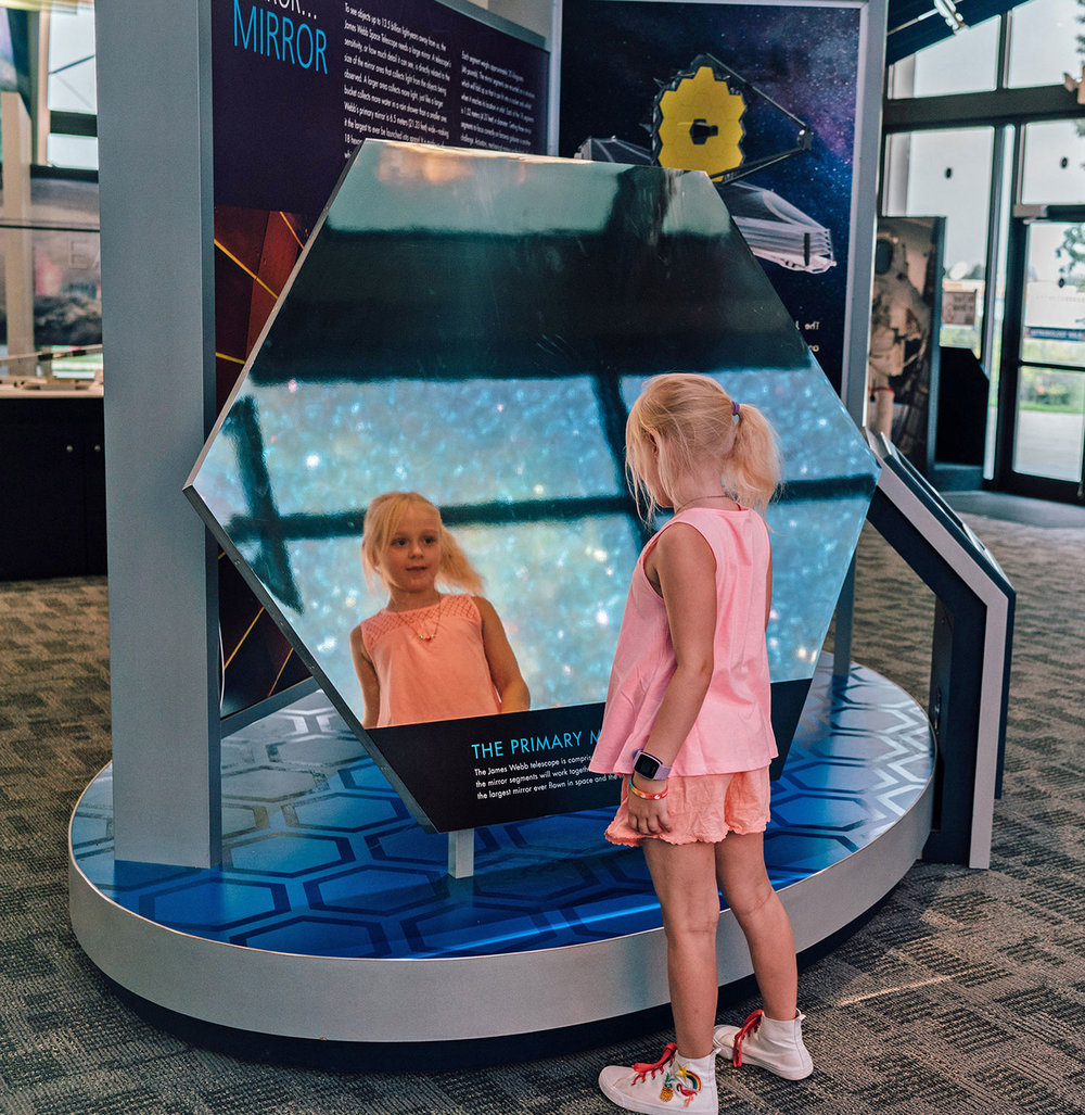 James Webb Space Telescope Exhibit