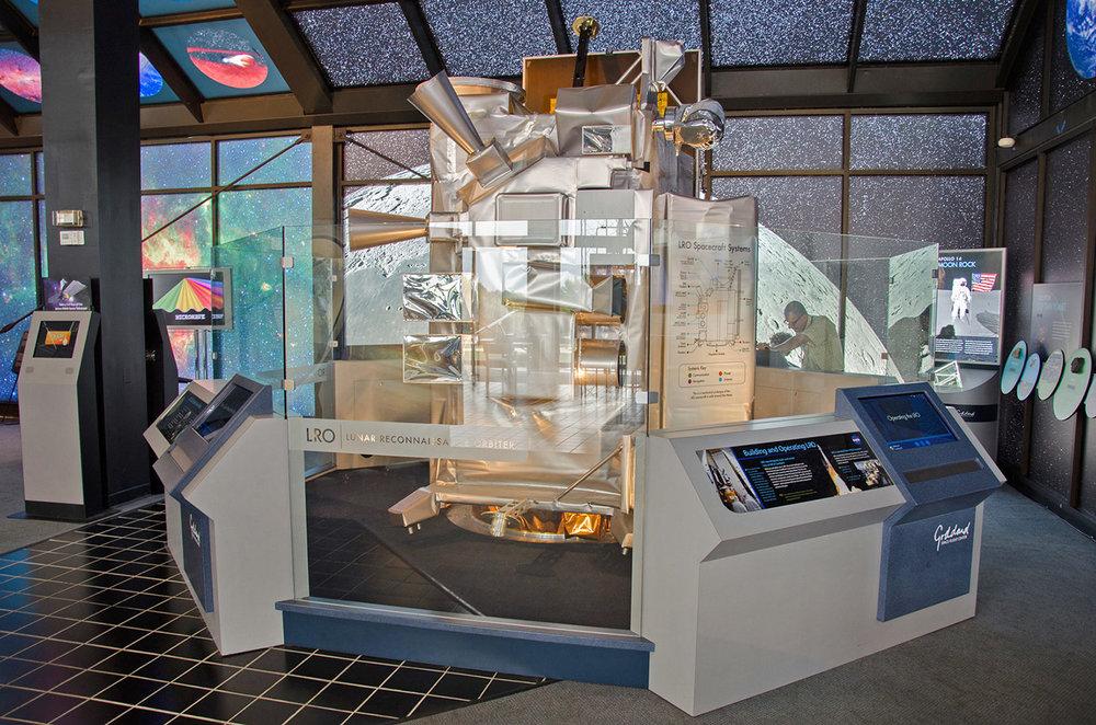 Lunar Reconnaissance Orbiter Exhibit
