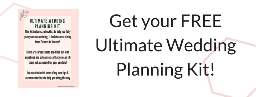 Get your FREE Ultimate Wedding Planning Checklist!