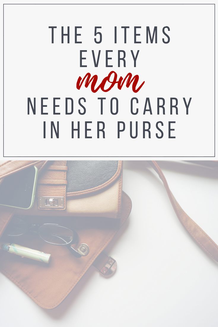the five items every busy mom needs