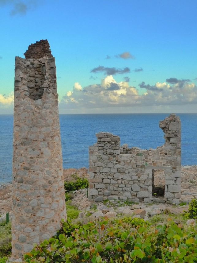 The ruins are fascinating. The views are breathtaking at Virgin Gorda's Copper Mine Ruins.