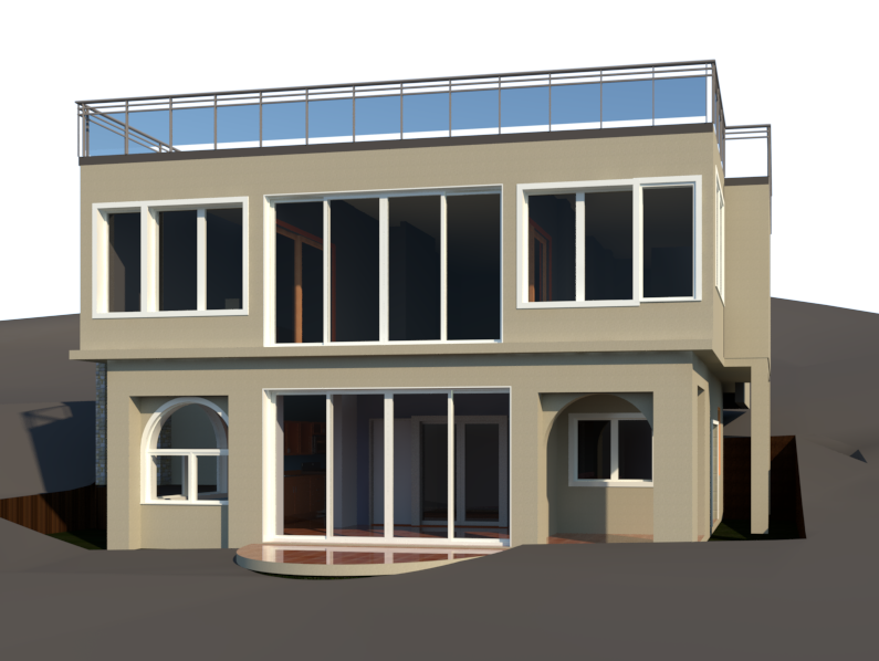 Proposed 3D Rendering of Sunset Watch Villa