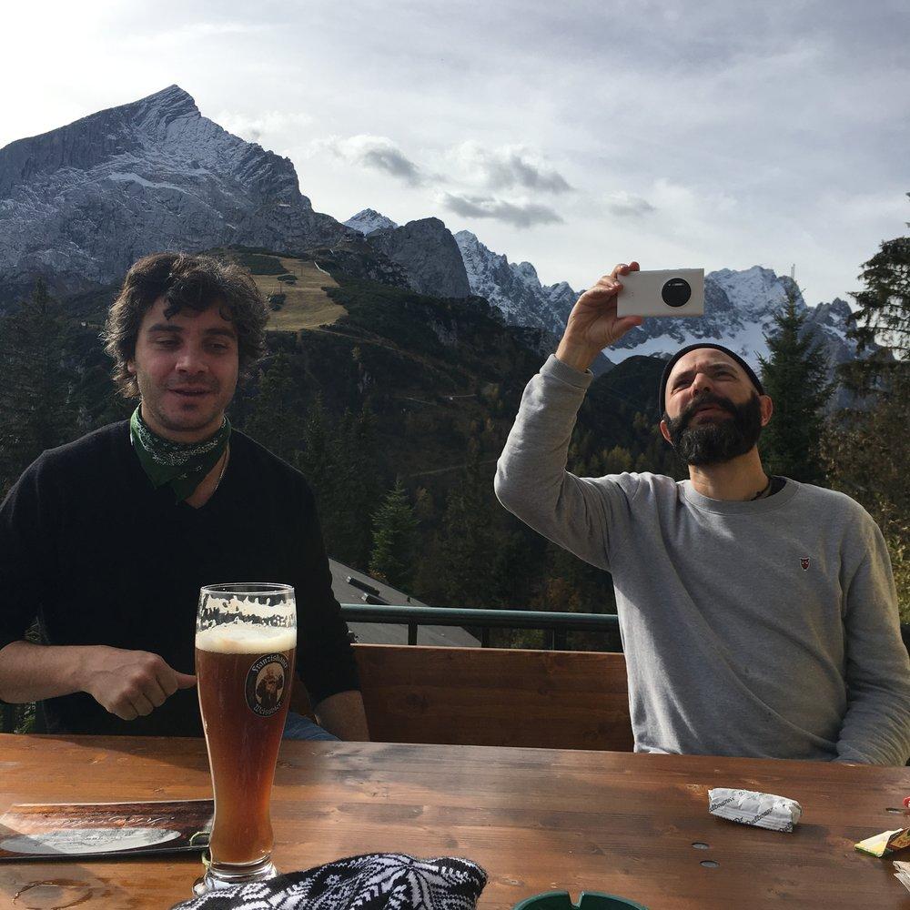 Zwei Perspektiven, Felix und Andi, Teamtage in Garmisch 2017