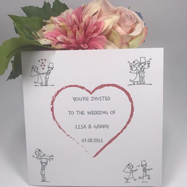 Inject some fun into your wedding with these fantastic, cute printed wedding invites! With our bride & groom cartoons as the central design to this piece, you will have your guests chuckling from the minute they open the envelope!  Visit our website to enquiry or go straight to purchase!! https://sapphirestationery.org/bespoke-stationery  #fun #wedding #weddinginvitations  #weddinginvitation #weddinginvite wedding invites weddings invitations #invites #specialoccasion  #specialoccasions #sapphirestationery