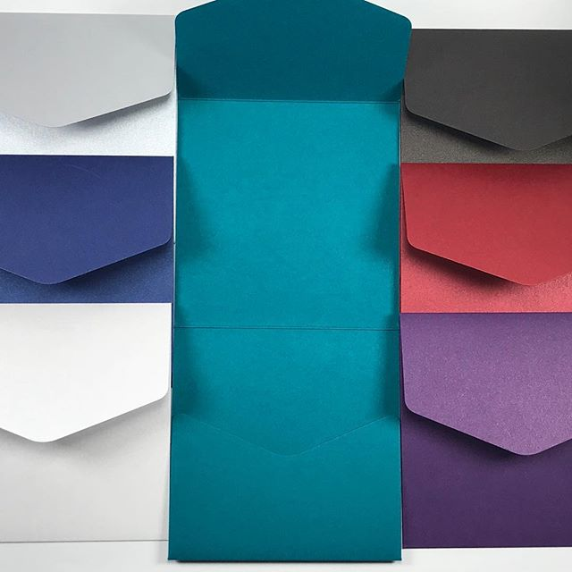 UPDATE: NAVY BLUE NOW GONE! Remaining colours as pictured.  STOCK CLEARANCE SALE  Pocketfold Invitations with Invitation insert, 1 additional info card plus rsvp and envelopes for only £1.50 plus p&p.  Pocketfold colours available: Ivory Ice Silver Blue Red Teal Green Black Navy Blue Silver  And a choice of 20 designs for your inserts.  When they're gone, they're gone!! Message me to check availability and place your orders!  #invites #invitations #weddinginvitations #weddinginvites #pocketfold #pocketfoldinvitation #pockfoldinvites #bookfoldinvitations #bookfoldinvite