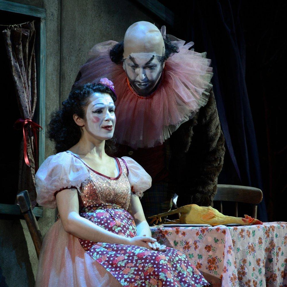 Cav and Pag, Dorset Opera, 2009 - Designer: Cordelia Chisholm