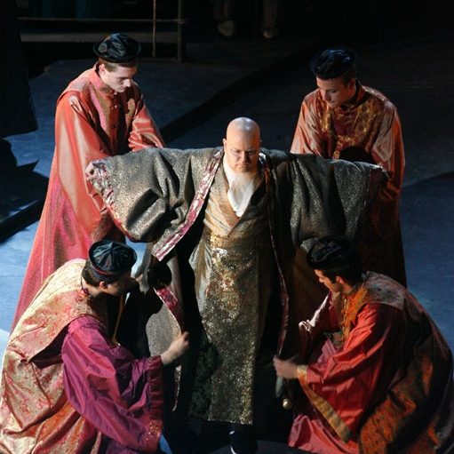 Turandot, Dorset Opera, 2007 - Designer: Cordelia Chisholm
