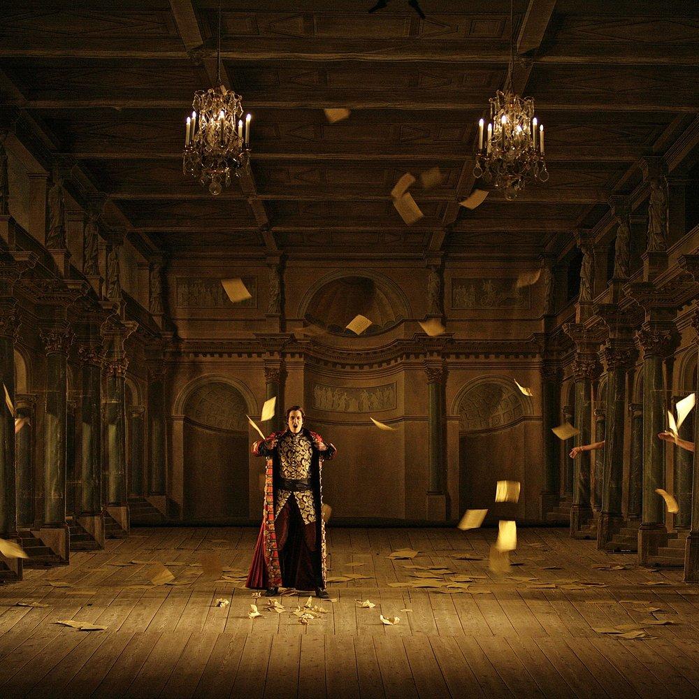 Serse, Drottningholms Slottstheater, 2007 - Designer: Carolina Woolf