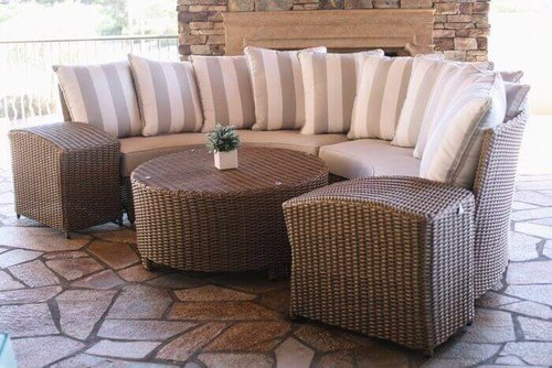Awesome 5 Great Patio Furniture Ideas For Small Spaces Unemploymentrelief Wooden Chair Designs For Living Room Unemploymentrelieforg