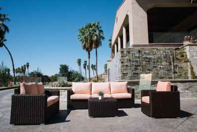 Genesis Collection outdoor furniture set.