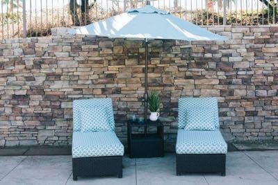 Buena Vista Patio furniture set.