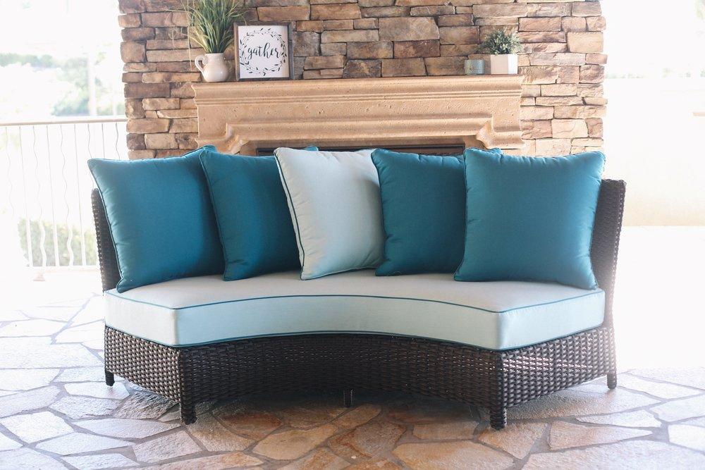 St. Martha Round Sofa