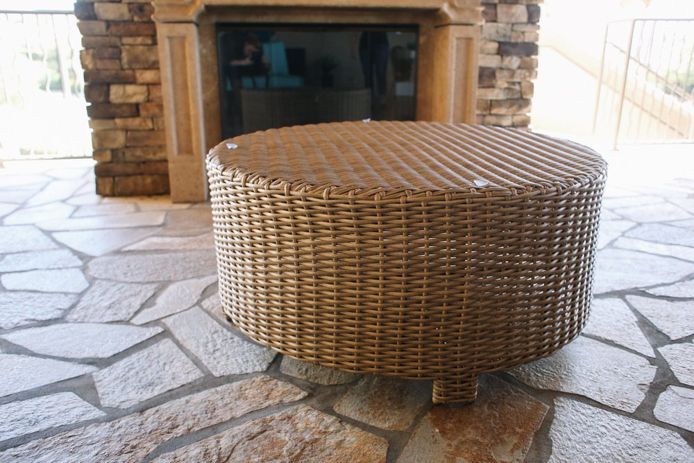 St. Lucia Round Coffee Table