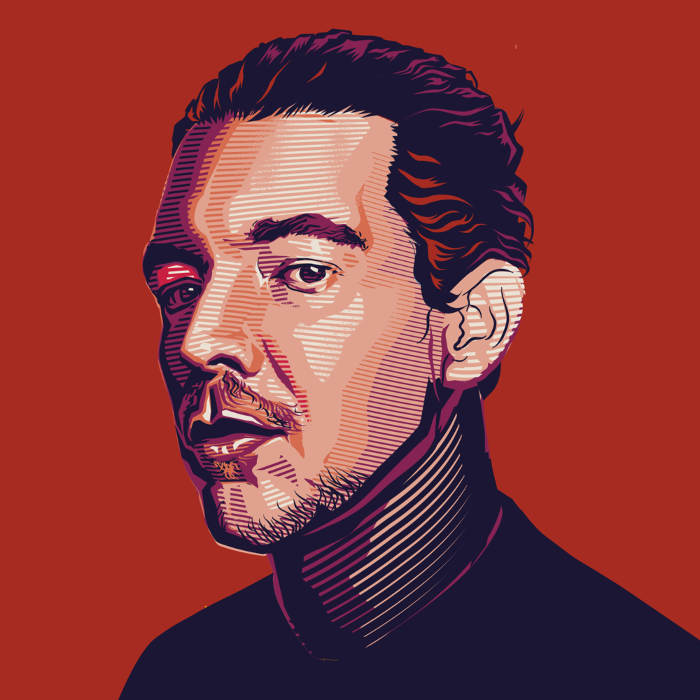 Diplo was actually my favorite one. Sadly, was cut from the cover on last minute