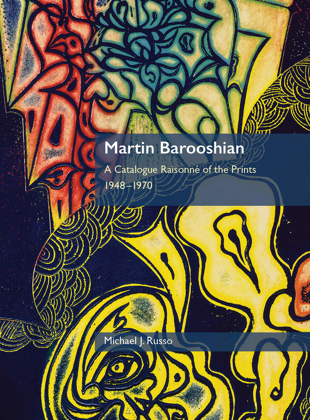 Fine art monograph: Martin Barooshian