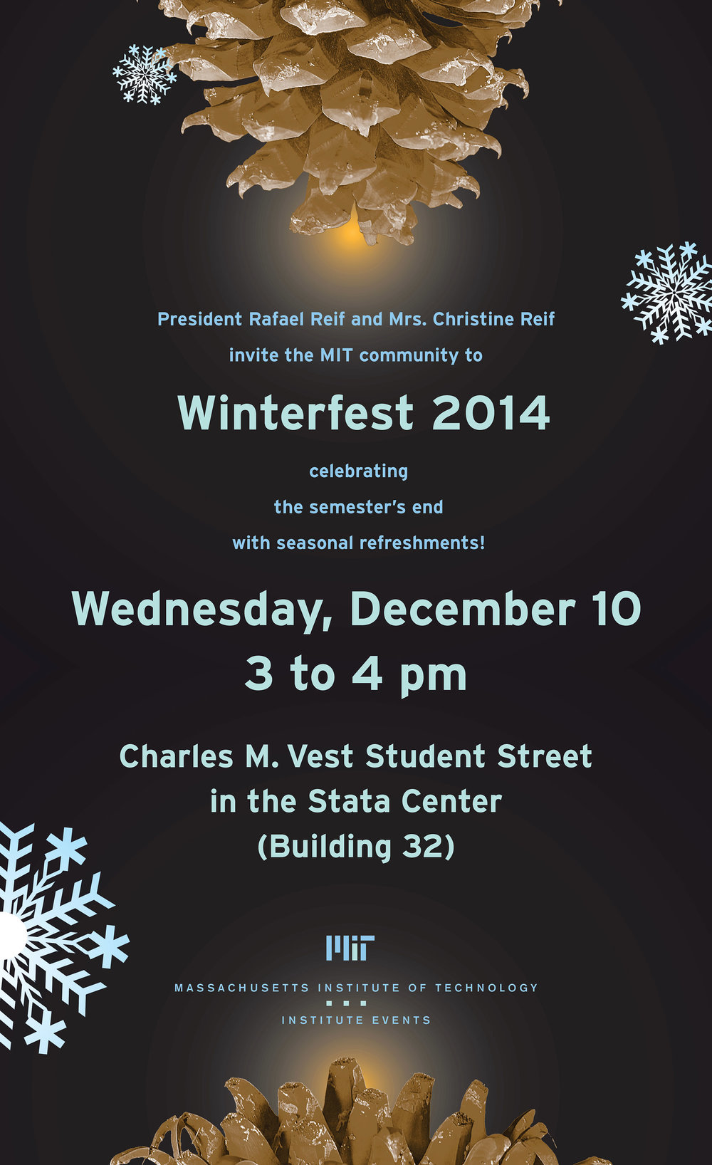 Winterfest event poster