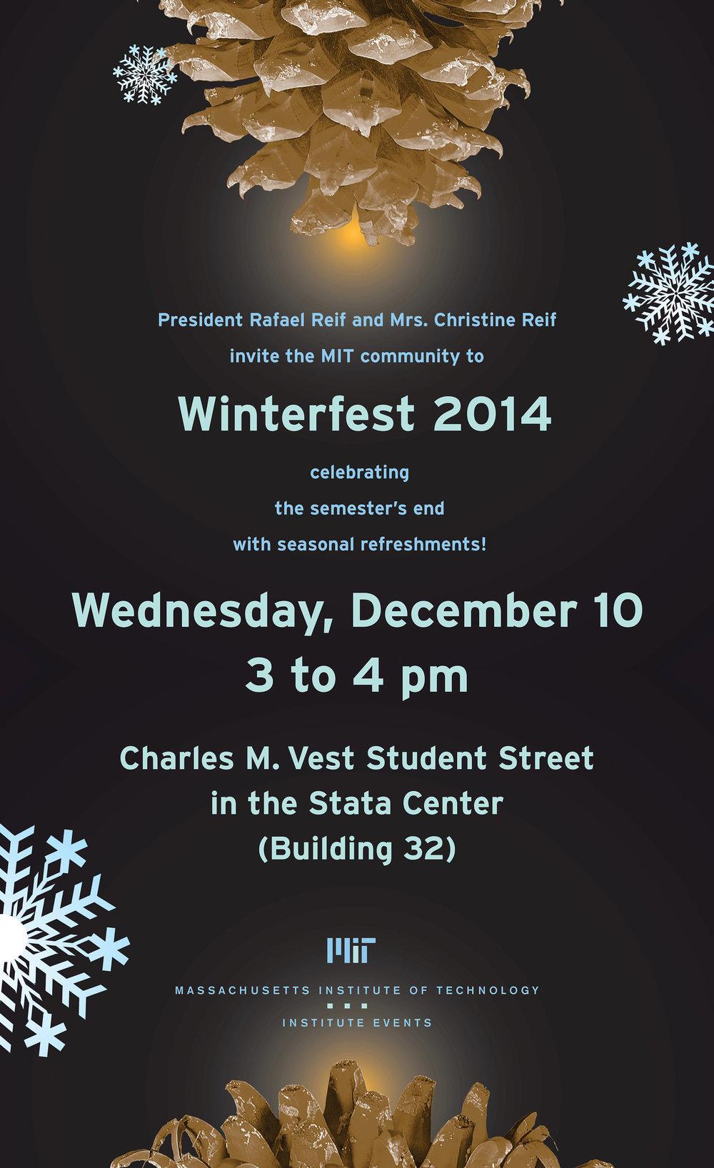 Winterfest event poster