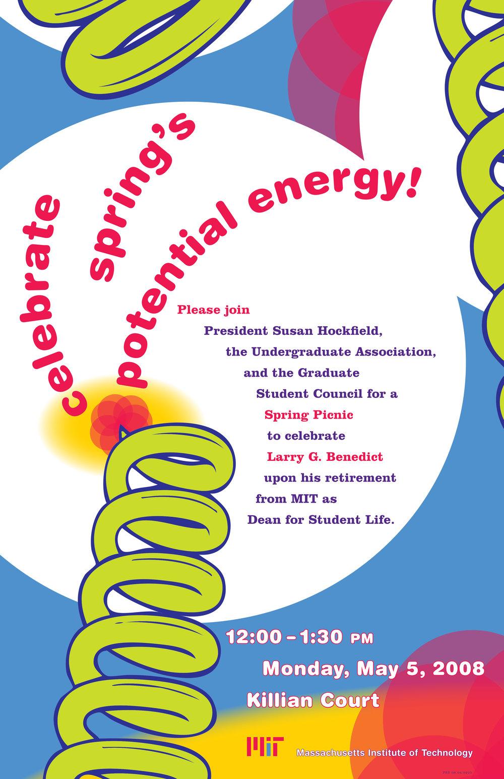 MIT Spring Picnic poster