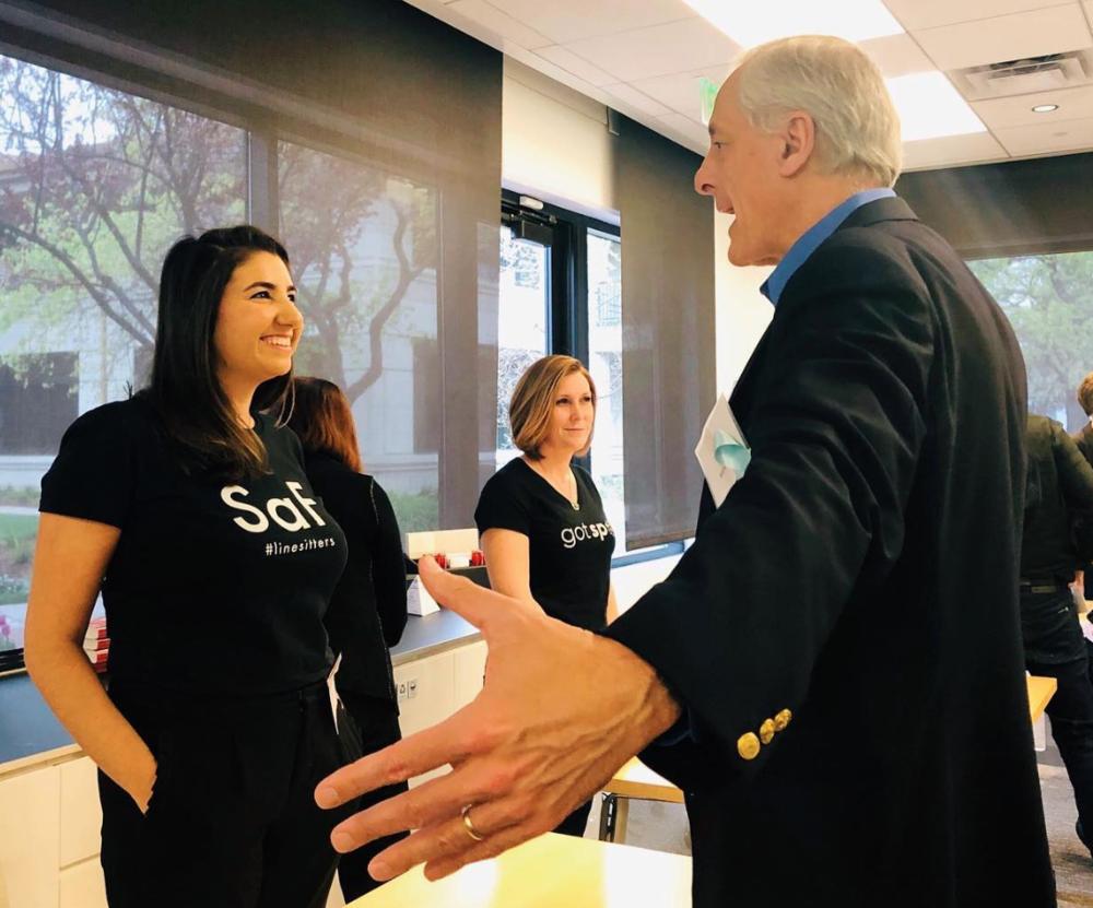 Women's Startup Lab, SAF & Bill Reichert