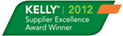 Kelly 2012 Supplier Excellence Award Winner