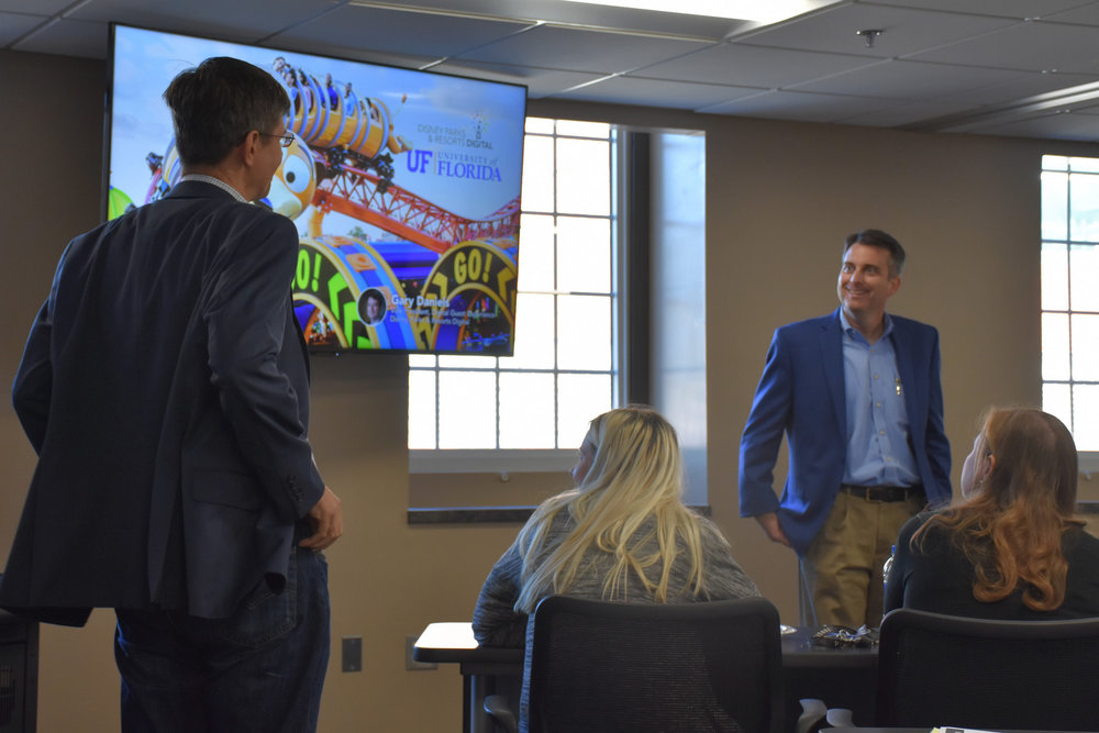 EFTI Seminar Series   Gary Daniels , VP Digital Experience   Disney Parks & Resorts   November 16, 2018 ( Pictures )