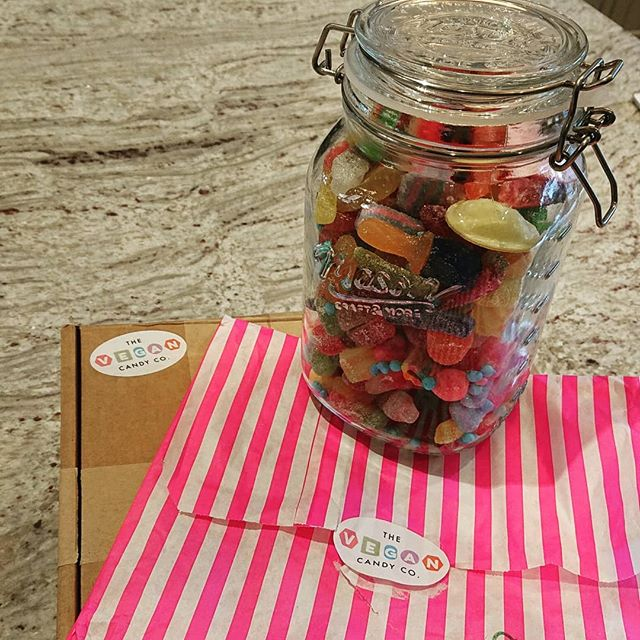 Plastic free sweeties from the vegan candy company 💚🍭😍 #plasticfree #vegan