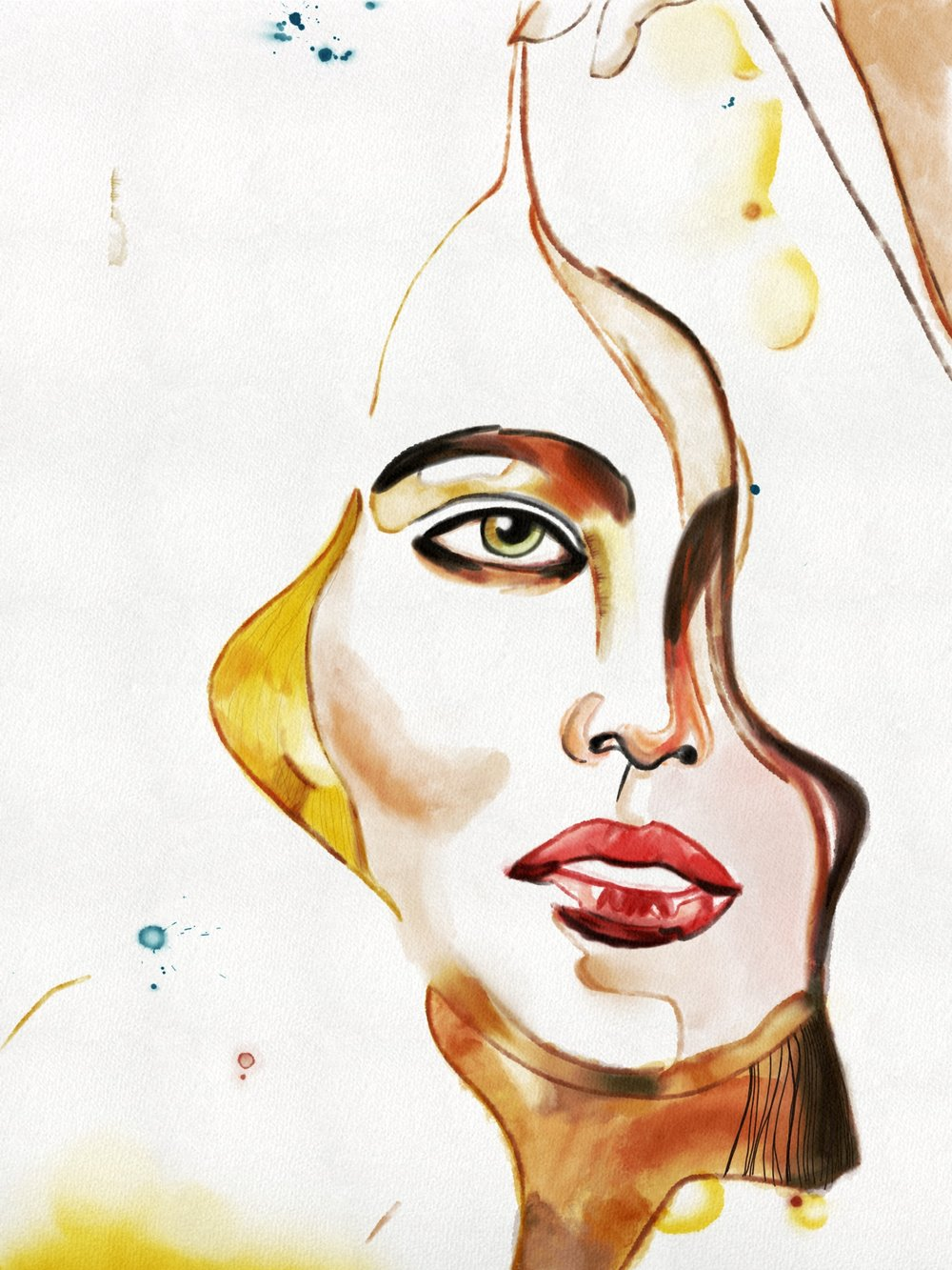 Original art by Samantha Hahn. Recreated Digitally by Briana Christine