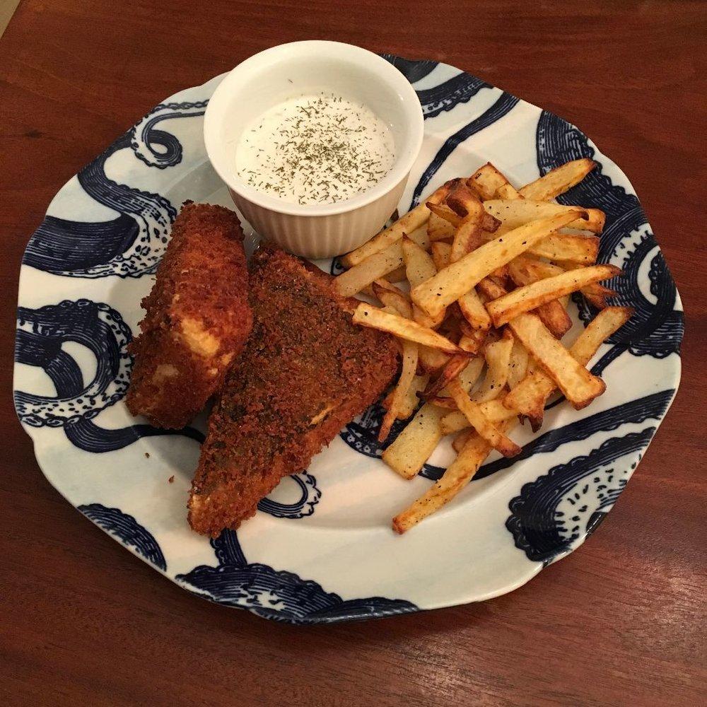 Vegan Fish & Chips