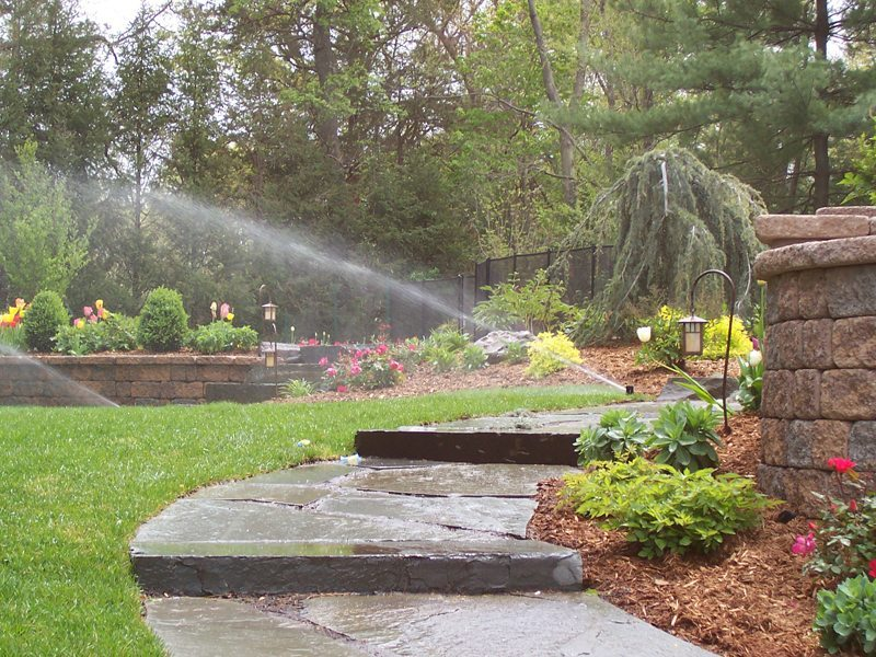 Irrigation systems make having a beautiful yard effortless. -