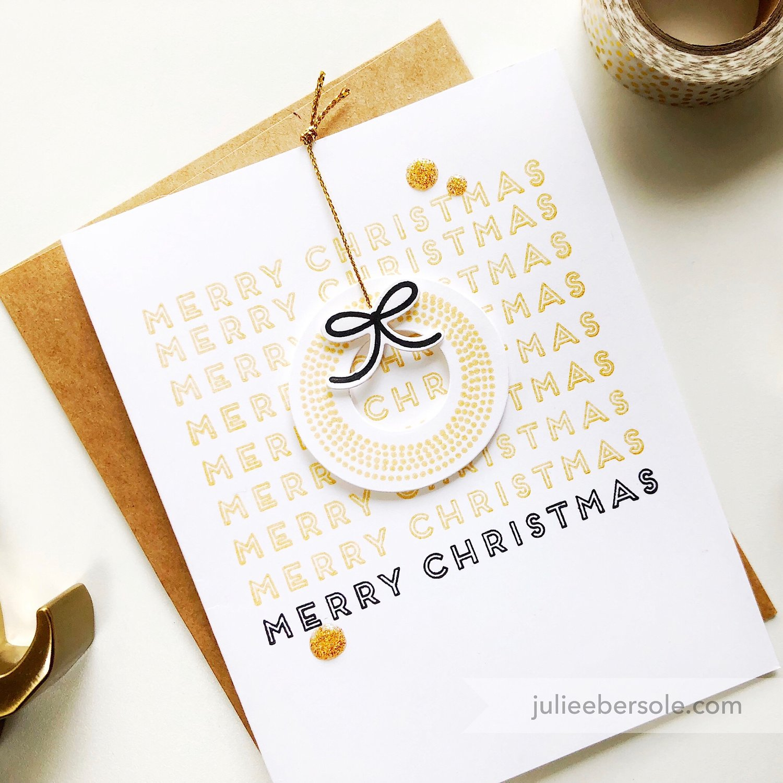 MODERN CHRISTMAS IN GOLD — JULIE EBERSOLE