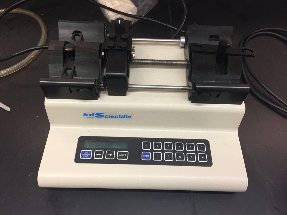 Kd Scientific Syringe Pump (CFI funded)