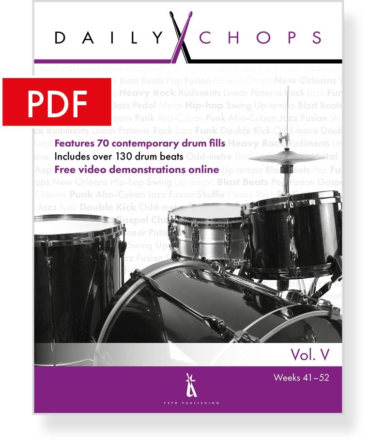 Daily Chops Vol  V – eBook — Tony Robinson