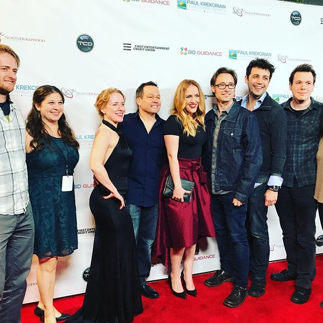 Awesome time last night!  So happy everyone could come out and can't wait to see some fantastic films this week!! @northhollywoodcinefest @laemmletheatres @nohoartsdistrict #filmfest #nohocinefest2018 #HeartlessMovie #GuiltKills #SunshineBoyProductions