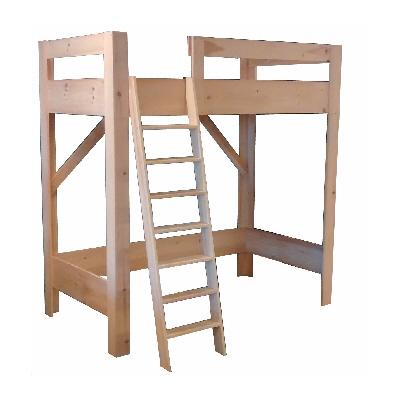 Beds - Evergreen - Loft Bed - Unfinished.jpg