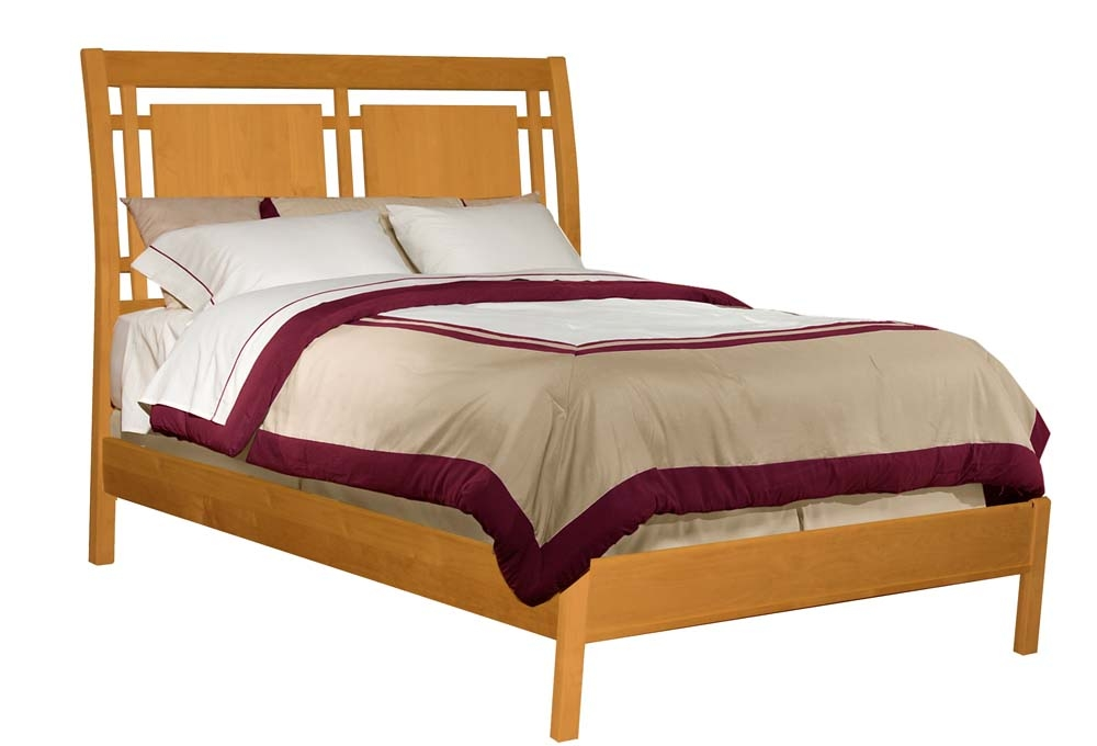 Alder Beds - Archbold - Modern sleigh bed - Finished.jpg