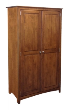 wardrobe - archbold - shaker wardrobe with hanging rod - armoire.jpg