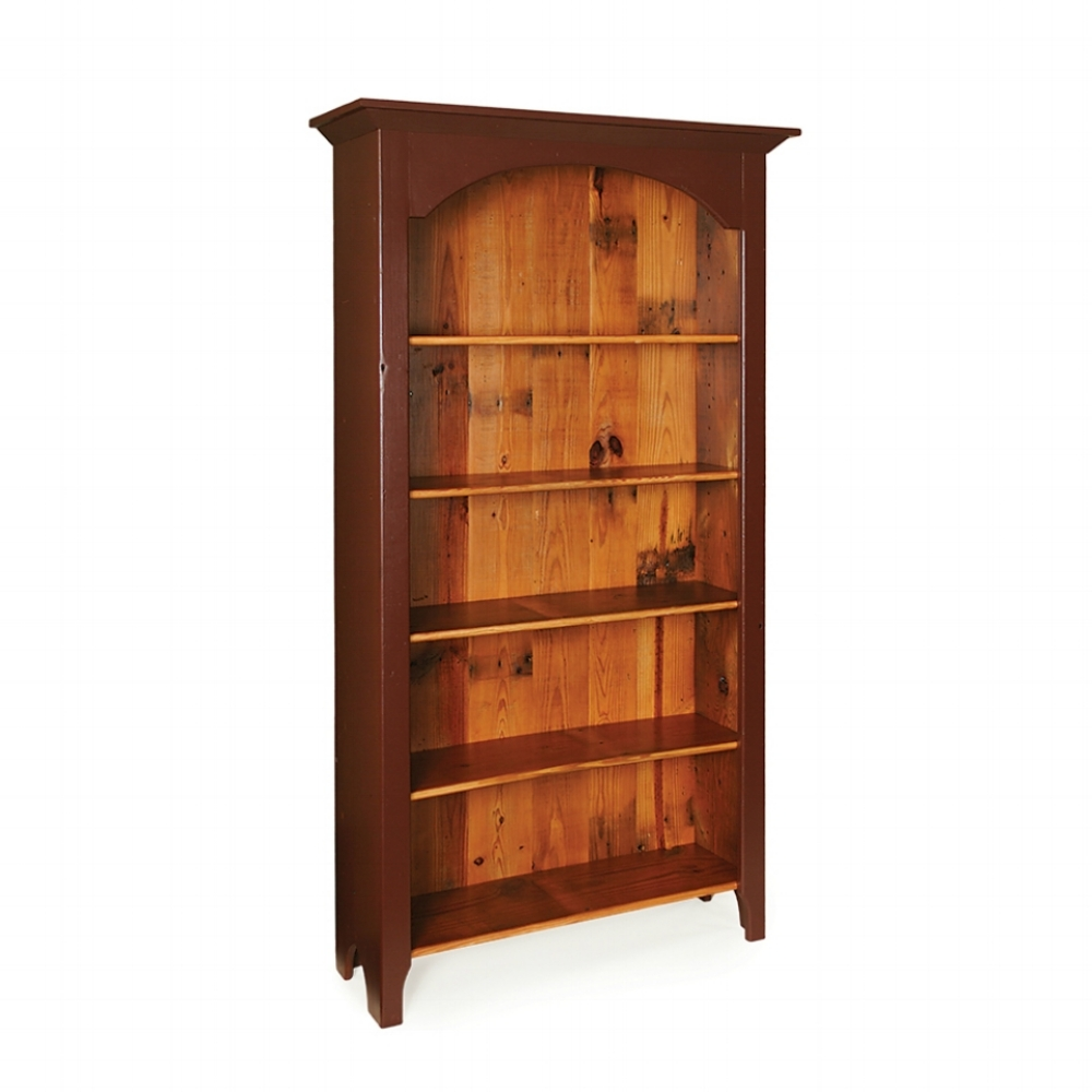 Penns Creek 40w Reclaimed Barnwood Bookcase    Starting at: $969.99