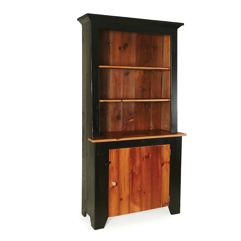 Penns Creek Reclaimed Barnwood Slant Hutch    Starting at: $1,669.99