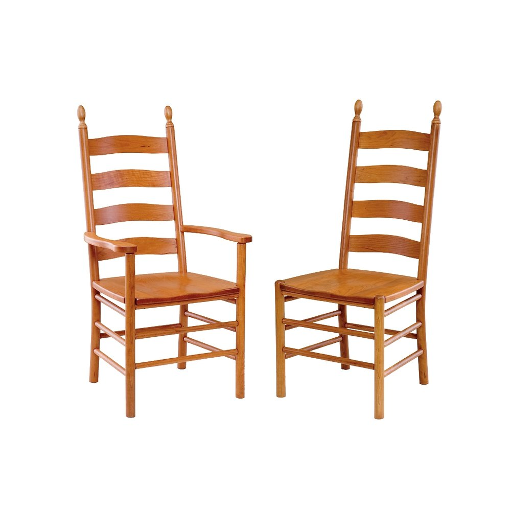 Penns Creek Shaker Ladderback Chairs    Starting at: $399.99