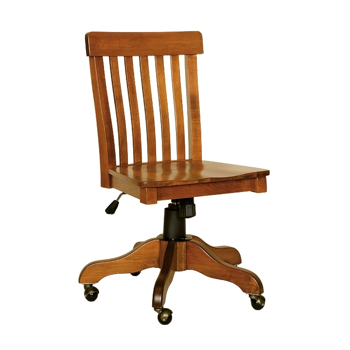 Penns Creek Lumbar Mission Side Desk Chair    Starting at: $