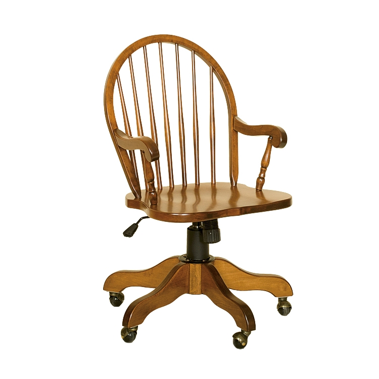 Penns Creek Charter Windsor Arm Desk Chair    Starting at: $