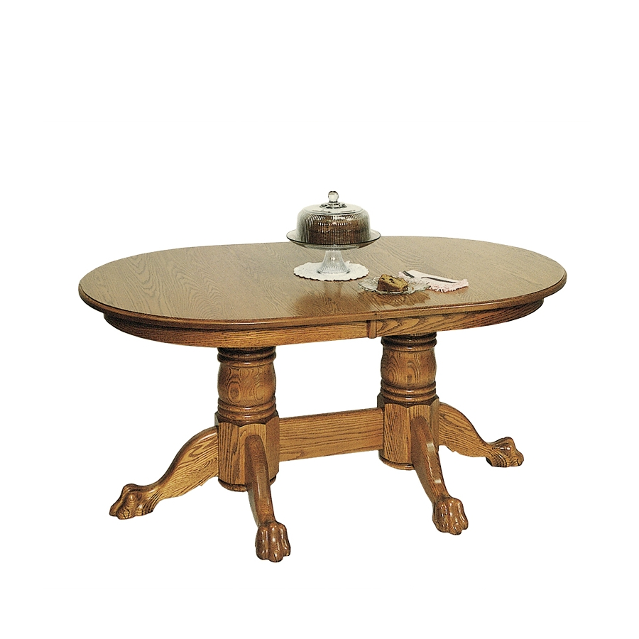 Pedestal Dining Tables With Extension Leaves