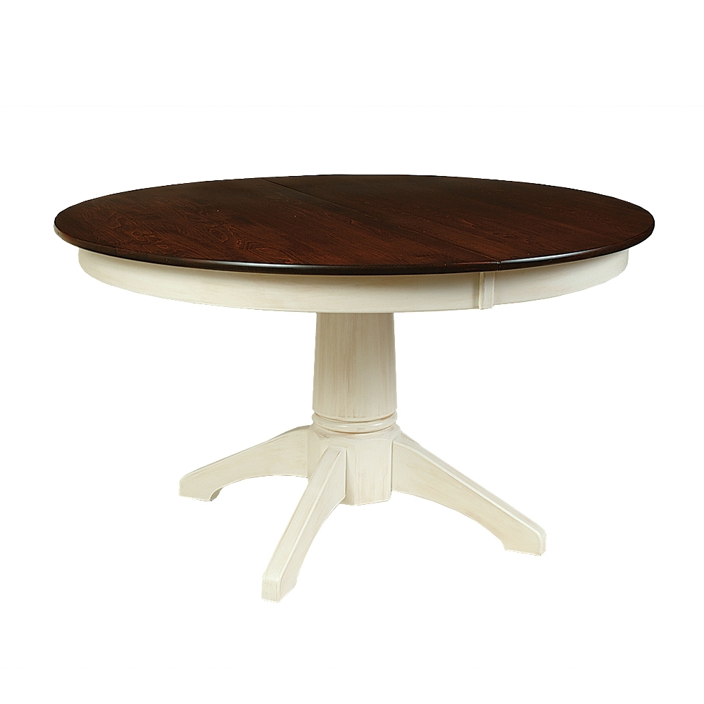 Penns Creek Round Single Pedestal Dining Tables    Starting at: $1,237.99