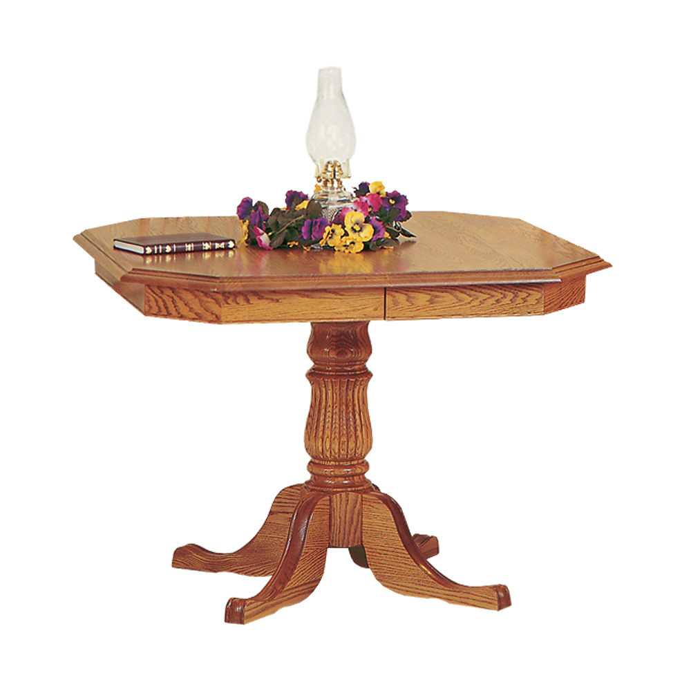 Penns Creek Clipped Corner Single Pedestal Table    Starting at: $1,999.99